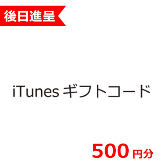 iTunesギフトコード 500円分